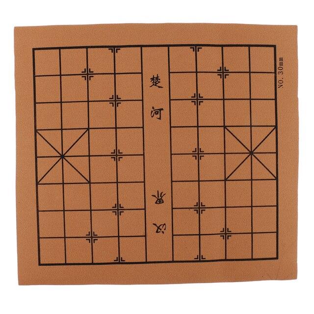 Portable Vintage chinois traditionnel échecs résine terre cuite armée Chese pièces artisanat objets de collection cadeau 6
