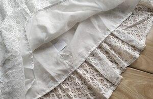 Милые детские белые кружевные платья для девочек 6, 8, 10, 12 лет, летняя одежда без рукавов для девочек-подростков, вечерние платья на день рожд...