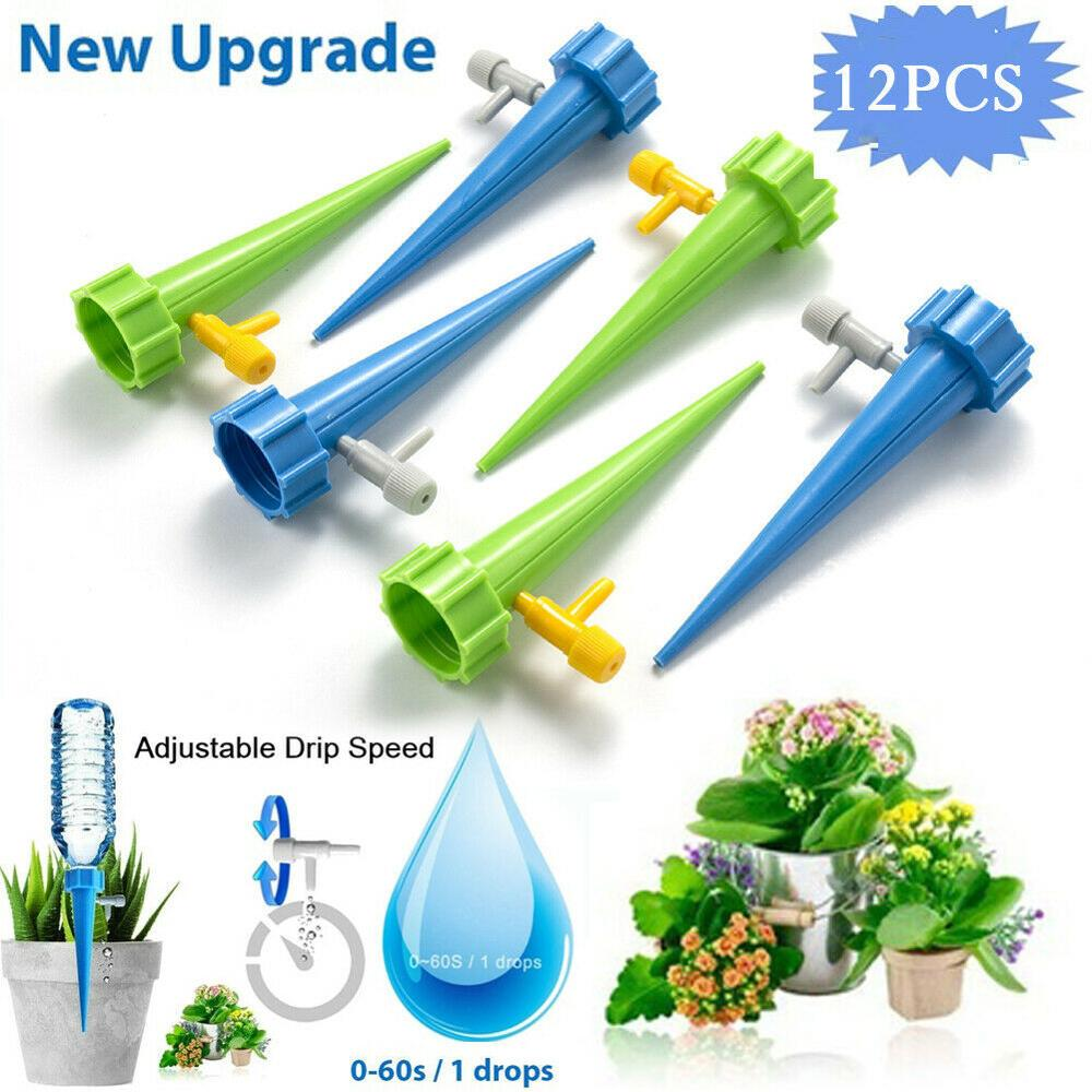 12PCS Garden Plant Automatic Irrigation Tool Spike Flower Supplies Self-Watering Device Self Watering Planters Jardin Jardineria