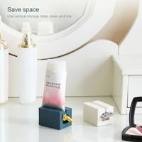Banheiro tubo de creme dental squeezer dispensador creme tubo espremendo dispensador casa decoração do banheiro acessórios Economizador de creme dental     -