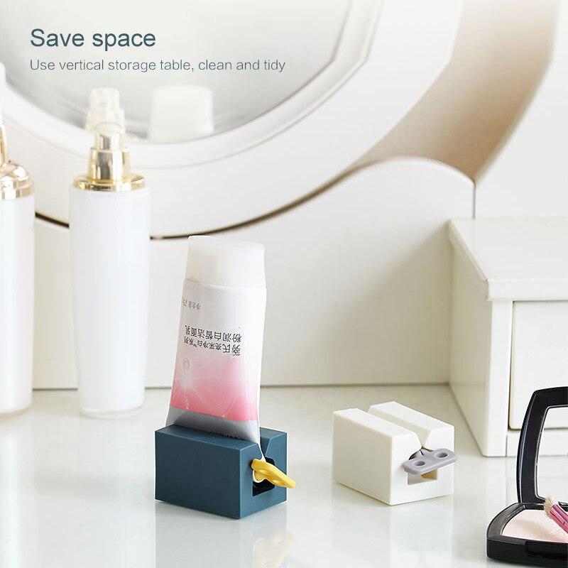 Bathroom Toothpaste Tube Squeezer Toothpaste Dispenser Cream Tube Squeezing Dispenser Home Bathroom Decoration Accessories