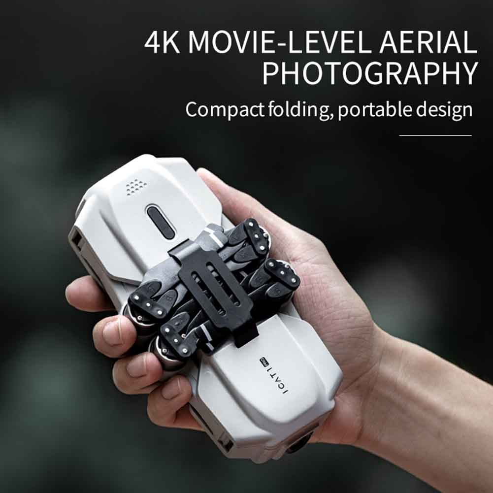 Mini RC Drone 4K Camera WIFI GPS Toy Adults Foldable Quadcopter Headless Mode Professional 2 4GHz APP Control Brushless Motor