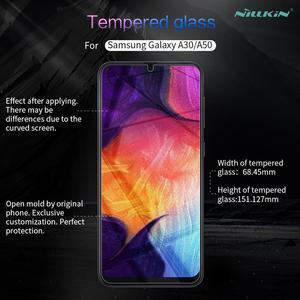 Image 5 - Para Samsung A70/A50/A30/A20/M30 9 Protetor de Tela de Vidro Nillkin H Vidro Temperado de Segurança para Galaxy A90/A80/A60/A40/A10/M10/M20