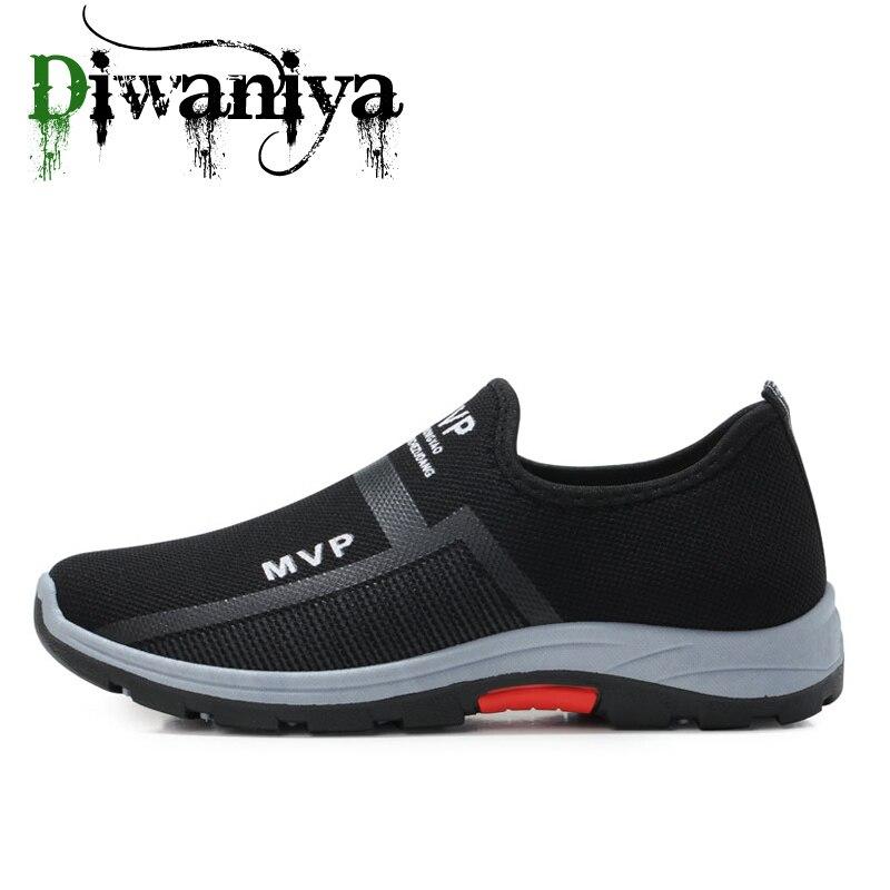 Разработанный 2020 мужская повседневная обувь Обувь с дышащей сеткой кроссовки Удобная прогулочная обувь, для мужчин, для пробежки, для бега ...
