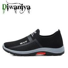 Projetado 2020 dos homens sapatos casuais malha respirável tênis de caminhada confortável calçados masculinos correndo sapatos esportivos marca verão novo