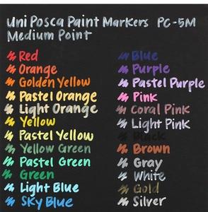 Image 5 - UNI POSCA PC 3M Advertising Paint Marker Pen 8/15 Color Boxed Permanent Marker Pen 0.9 1.3mm