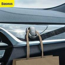 Металлический автомобильный крюк baseus крепежный зажим крючки