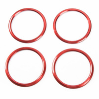 Air Condition Outlet Vent Trim AC Ring Bezels for Chevrolet Camaro 2017+ Car Styling Accessories