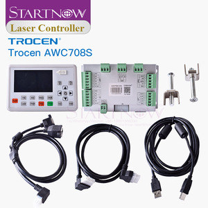 Image 2 - Trocen awc708s 7813 placa de controlador do laser co2 substituir ruida sistema cnc cartão controle 708c para peças sobresselentes da máquina corte a laser