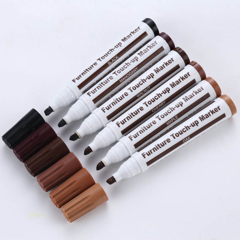 Furniture Repair Pen Markers Scratch Filler Paint Remover For Wooden Cabinet Floor Tables Chairs UND Sale