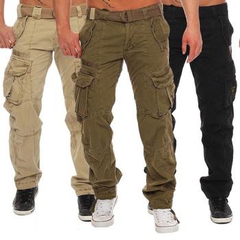 ZOGAA 2019 dorywczo spodnie Fitness mężczyźni odzież sportowa spodnie dresowe obcisłe spodnie dresowe spodnie Gym spodnie do biegania odzież spodnie dresowe tanie i dobre opinie Cargo pants Plisowana Poliester COTTON NONE REGULAR Smart Casual Midweight Suknem Pełnej długości Elastyczny pas Man-7032