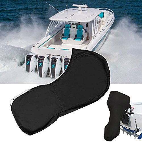 For 6-225HP 600D Boat Full Outboard Engine Cover Motor Cover Protector Waterproof Oxford Cloth 3 Color/Size image