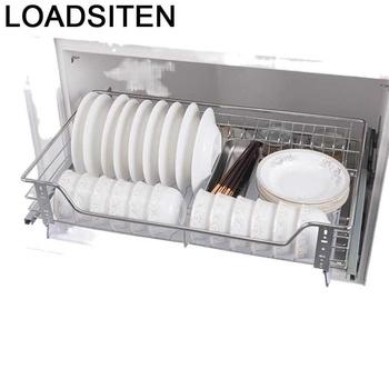 I regały magazynowe Cucina Organizador Cocina Cestas Para Organizar stojak kuchenny ze stali nierdzewnej Cozinha szafka kuchenna kosz tanie i dobre opinie LOADSITEN CN (pochodzenie) Metal
