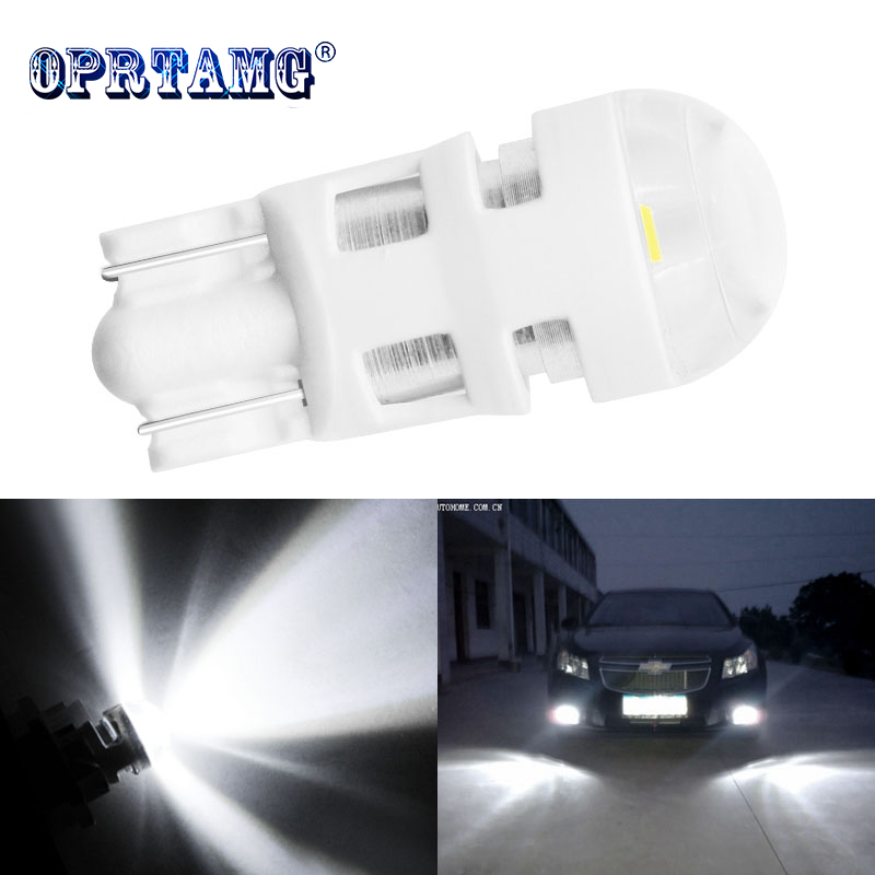 1pcs <font><b>T10</b></font> Car led 168 194 2825 <font><b>W5W</b></font> LED For <font><b>CREE</b></font> Chip Led Replacement Bulbs Car License Plate Car Light Source Car accessories image