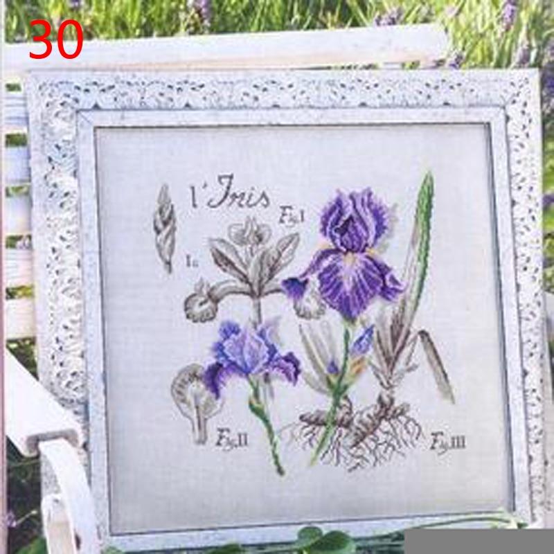 30重绘8531-紫色鸢尾DFEA阴影花系列3
