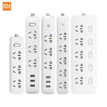 Xiaomi Smart Socket Plug Household Extension Cable Power Board 3/5/6/8 Hole USB Fast Charging 2500W 10A 250V(China)