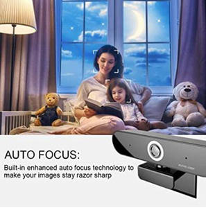 Usb-Plug-N Camera 1920x1080p Ups 5pcs Webcam Play Dual-Microphone Hdweb Live-Stream Or