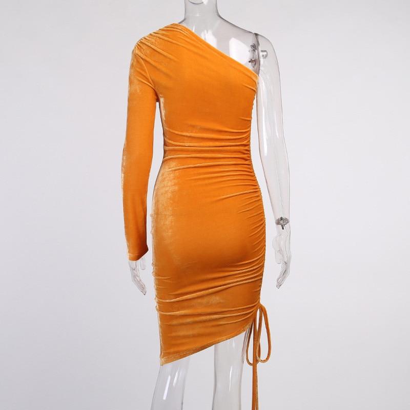 one shoulder midi dress02