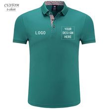 Custome embroidery 2019 polo shirt men with profesional /digital/ silk printing haute