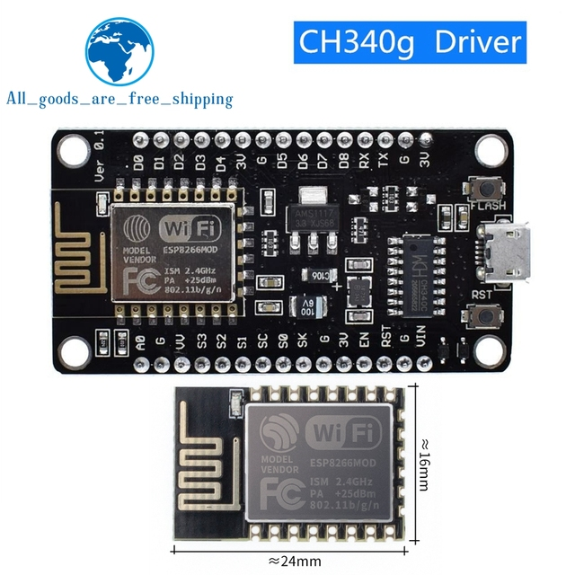 Wireless Module NodeMcu V3 CH340 Lua WIFI Internet Of Things Development Board ESP8266 With Pcb Antenna And USB Port For Arduino 1