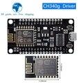 Модуль ESP8266 NodeMcu v3 Lua с Wi-Fi, беспроводная плата CH340 для разработки «Интернет для вещей», ESP8266 с антенной PCB и портом USB для Arduino