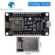 Módulo inalámbrico NodeMcu v3 CH340 Lua WIFI Internet of Things Placa de desarrollo ESP8266 con antena pcb y puerto usb para arduino
