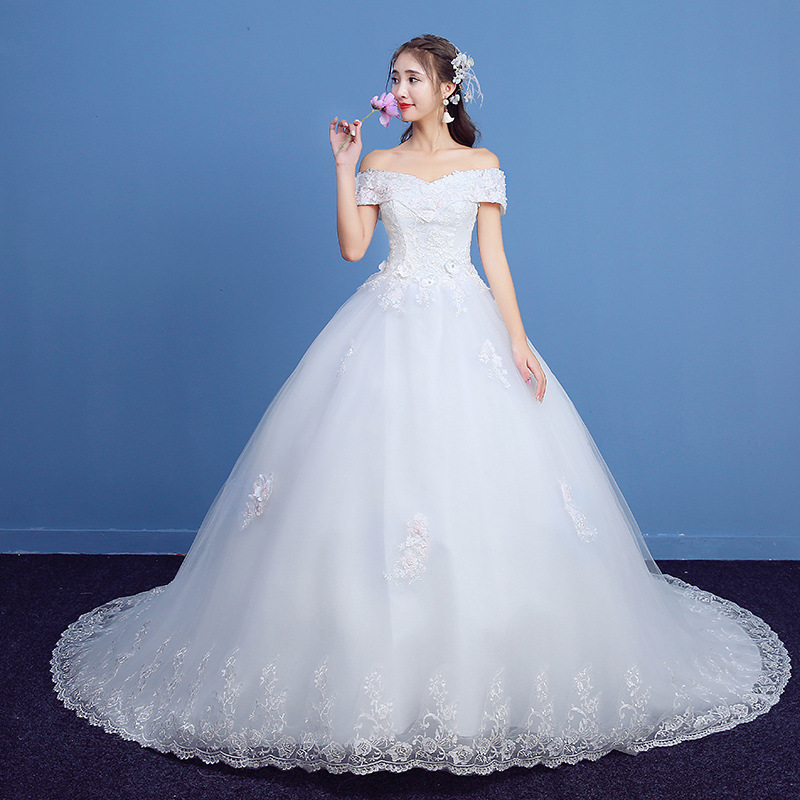 Mrs Win 2020 New Wedding Dress Clear Stock Size 6 10 Design For Choice