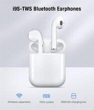 Лучшие I9S СПЦ мини Bluetooth5.0 стерео наушники Беспроводные наушники спорт гарнитура для iPhone Xiaomi и Huawei для Андроид i9 не ПК I7S и10 и12