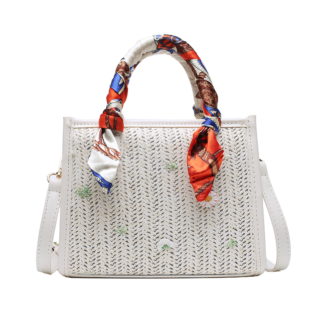 Summer Straw Bag for Women New Fashion Shoulder Bags Lady Travel Purses and Handbags Summer Female Messenger Shoulder Handbag Luggage & Bags