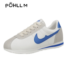 PUHLLM 2019 Fashion  Womens Sports Shoes Sneakers Trainers Women Casual shoes Breathable Mesh woman lace-up zapatos de mujeB87