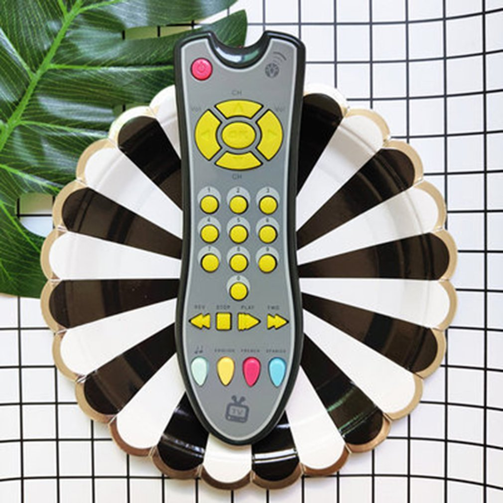 2019 NEW Baby Phone Toys Music Mobile Phone TV Remote Control Early Educational Toys Electric Numbers Remote Learning Machine To