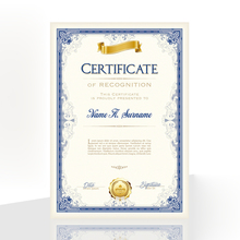 20PCS Honor Certificate Inside Page Creative Award Art Paper A4 Appointment letter of Authorization Award certificate Inner Core cuckoo certificate a4 stamping silver border anti counterfeiting watermark core paper letter authorization training graduate
