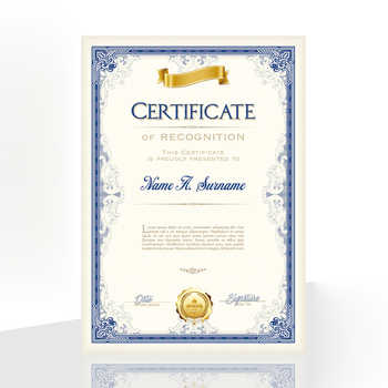 20PCS Honor Certificate Inside Page Creative Award Art Paper A4 Appointment letter of Authorization Award certificate Inner Core - DISCOUNT ITEM  31 OFF Education & Office Supplies