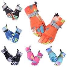 Adults Winter Snowboard Touch Screen Ski Gloves Waterproof Full Finger Mittens