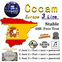 【C】【C】【C】【A】【M】 TV Empfänger AV Kabel linie in europa cline egygold Freesat ccam cline