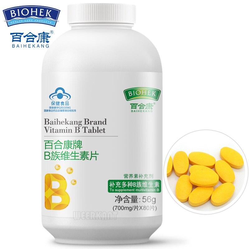 Vitamin B Complex Pills High Strength All 9 B Vitamins Biotin & Folic Acid B12 B Complex For Hair Loss