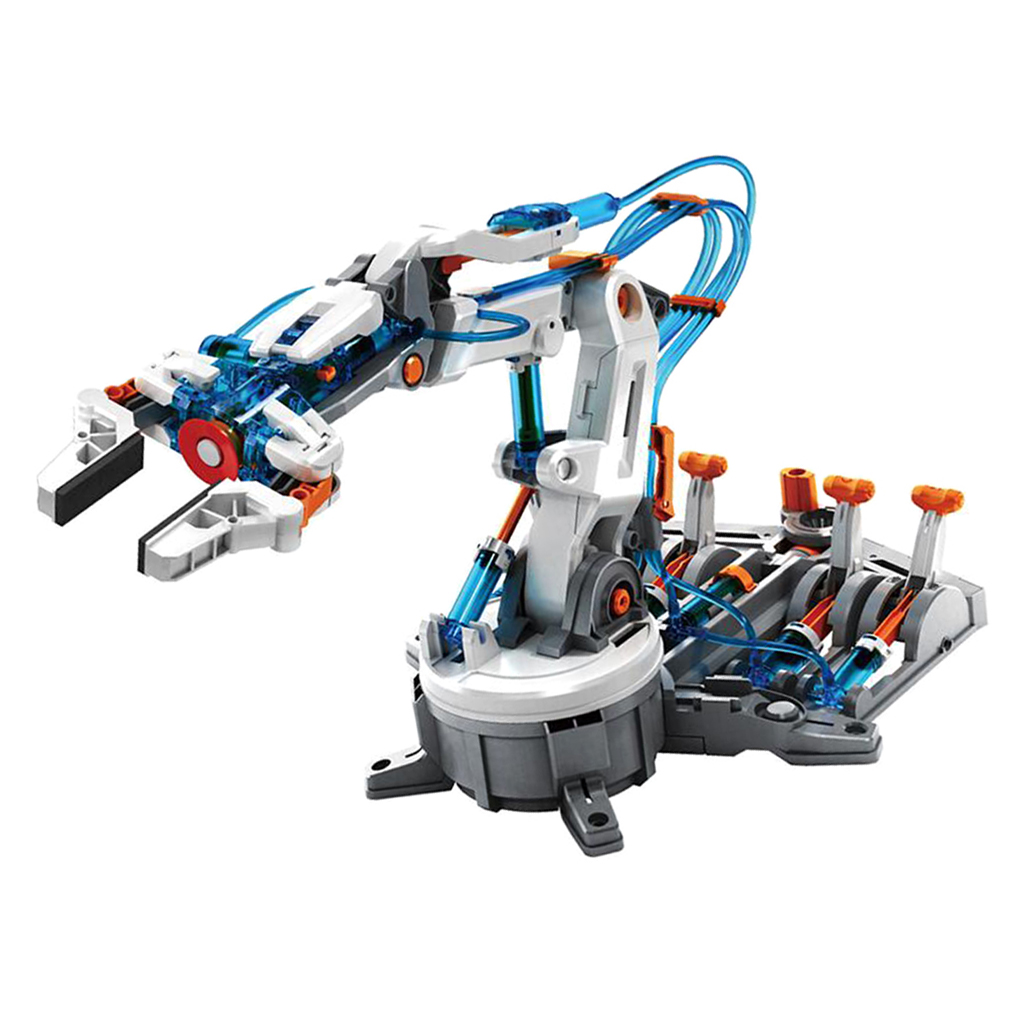 Lab Basic Circuit Learning DIY 6-Dof Robot Arm 229pcs Kits Physical Experiment Kits Student Science Discovery Toy
