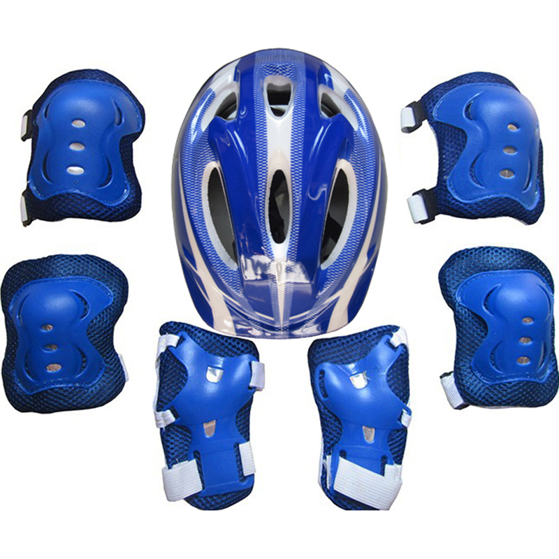 Roller Skating Bike Helmet Knee Wrist Kid Child Skate Bike Cycle Protector