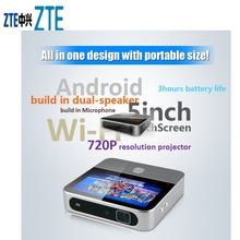 Zte spro 2 mf97e 4g lte + wifi проектор для смартфона android