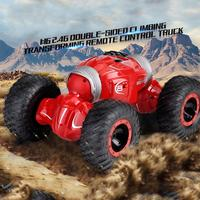 1:16 2.4Ghz 4WD Remote Control Car Double sided Flip Deformation Climbing Off Road Vehicles Rock Crawler Double Motor Toy Car