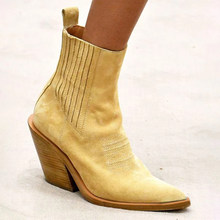 Heflashor Women Boots Ankle boots Women Botas Shoes Leather Shoes For Winter Boot Shoes Woman Casual Female Ankle Ladies(China)