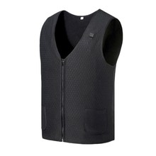 Heating Vest Intelligent Men and Women Heating Vest Usb Electric Vest Vest Clip Usb Electric Heating Vest cheap Polyester Golf Jackets 026856 modal ice-snow Flax fever spandex Winter