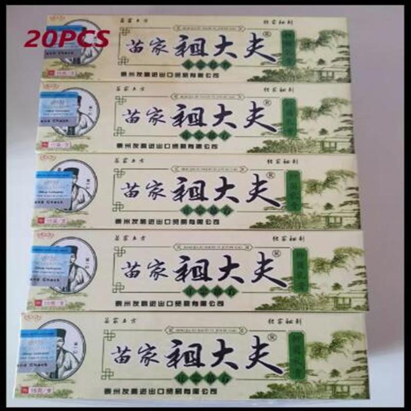 10 pz YIGANERJING Zudaifu crema per la psoriasi crema per la cura della pelle psoriasi crema per la pelle dermatite ecceematoide Eczema unguento trattamento 1
