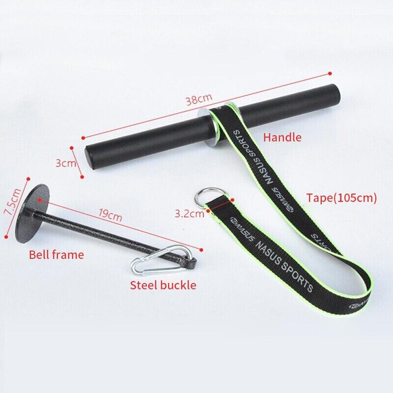 Hand Gripper Strength Exerciser Weight Lifting Rope Waist Roller Equipment 1