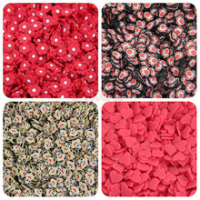 10g Soft Pottery Bear Slices Slimes DIY Nail Art Mobile Beauty Cat Claw Toy Fill