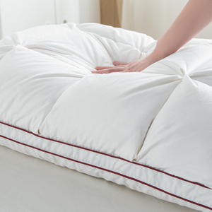 Image 4 - Peter Khanun 48*74cm Brand Design 3D Bread White Duck/Goose Down Feather Pillows for Sleeping Bed Pillows Home Textile 014