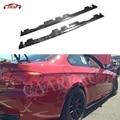 Боковые юбки из углеродного волокна для BMW 3 серии E92 E93 M3 2008 2009 2010 2011 2012 2013 бампер для автомобиля Стайлинг