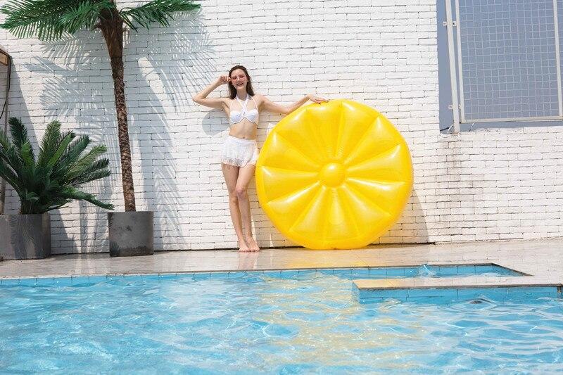 flutuante fileira melancia flutuante ilha montagem anel de natação cadeira