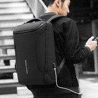 Mark Ryden Backpack Men's Business Backpack Outdoor Multi functional USB Backpack Waterproof Travel Computer Bag