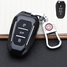 حافظة مفتاح السيارة الذكية للتحكم عن بعد ، غطاء سلسلة مفاتيح بيجو 2019 508 301 2008 3008 4008 407 سيتروين C5 C6 C4L الصبار C3XR DS ، 408